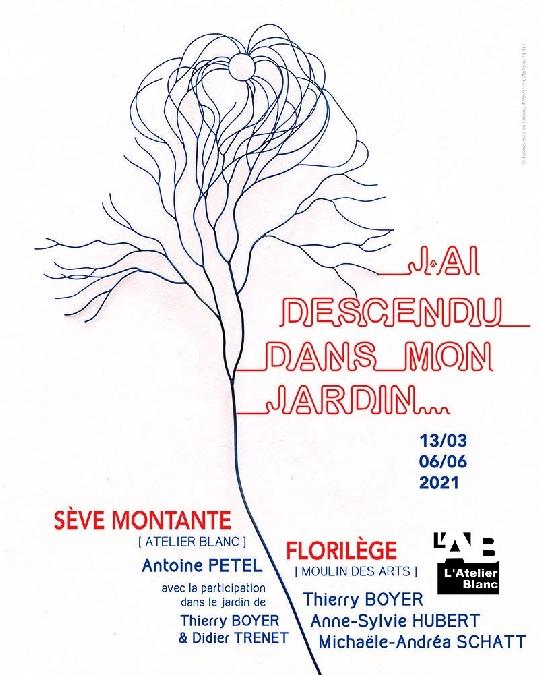 L'Atelier Blanc : J'AI DESCENDU DANS MON JARDIN...