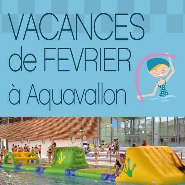Vacances de février à Aquavallon : aquagym