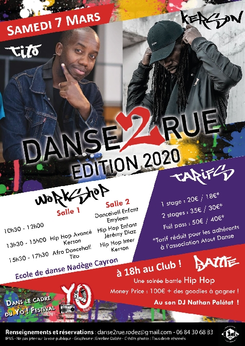 Festival Danse 2 Rue