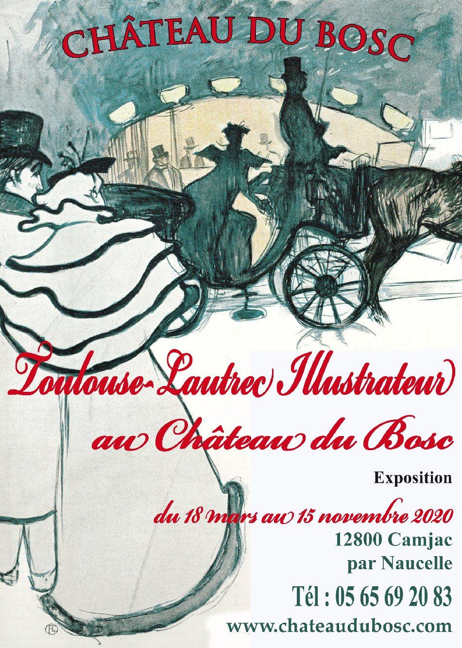 Toulouse-Lautrec illustrateur au Chateau du Bosc a camjac