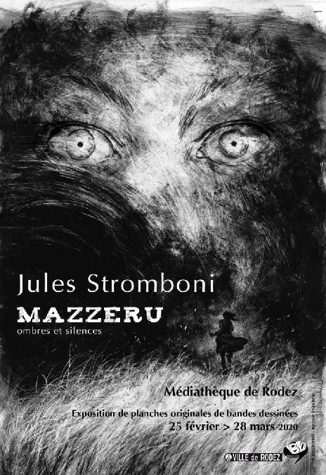 Exposition de planches originales de Jules Stromboni