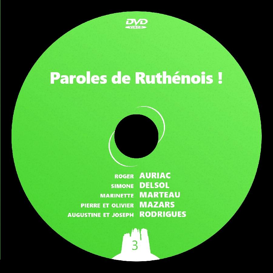 DVD Paroles de Ruthénois ! 3