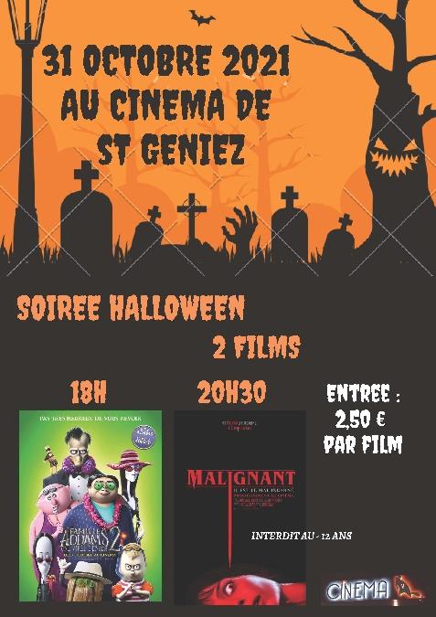 Soirée Halloween au cinéma de St Geniez d'Olt