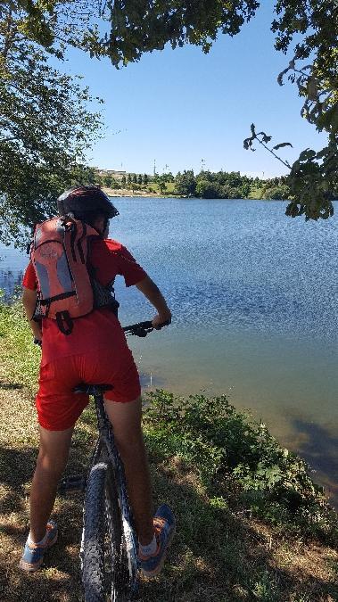 Les sentiers à pied et VTT autour du Lac du Val de Lenne