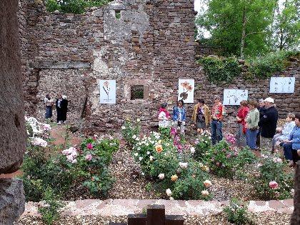 La Roseraie, Office de Tourisme Rougier d'Aveyron Sud