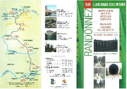 Voie verte Bertholène - Bozouls - Espalion, Office de Tourisme des Causses à l'Aubrac