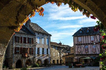 Circuit voiture - Entre Bastides et Plus Beaux Villages de France