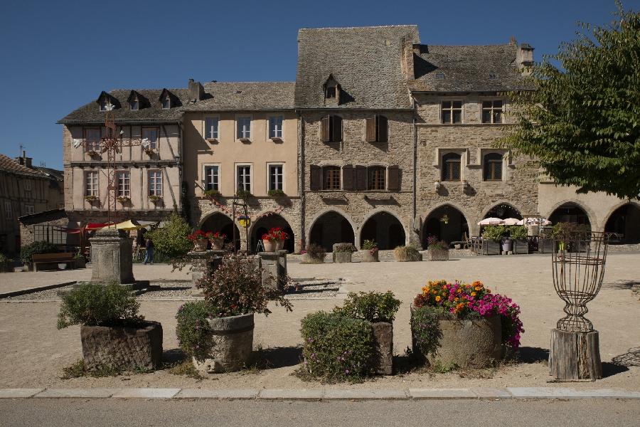 Visite ludique de Sauveterre-de-Rouergue