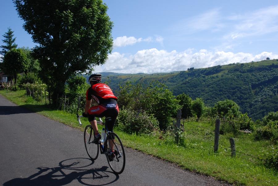 Cyclotourisme : Circuit Lacroix-Barrez - Aux portes de la Truyère