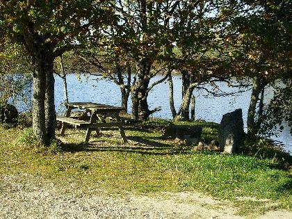 Aire de pique-nique Lac des Galens