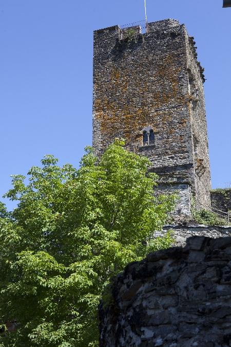 Randonnée : le château de Valon