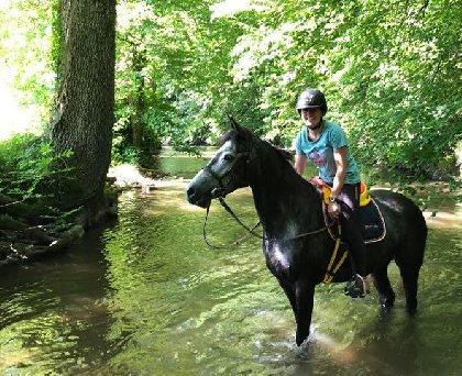 CASSANDRA, Monitrice d'équitation, OFFICE DE TOURISME DE PARELOUP LEVEZOU
