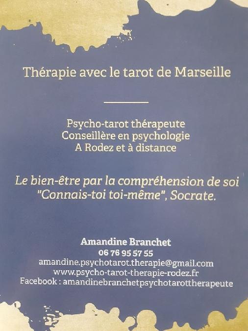 Flyer : Tarot de Marseille psychologique