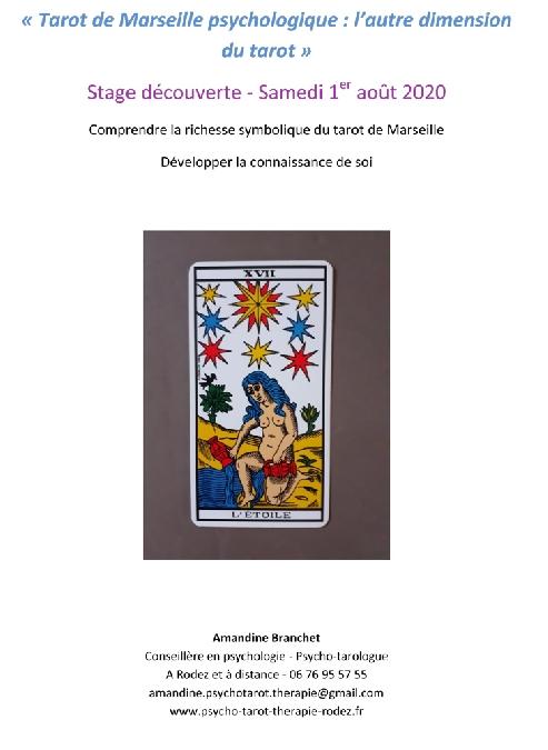 Stage découverte : Tarot de Marseille psychologique