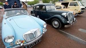 Exposition de véhicules de collection