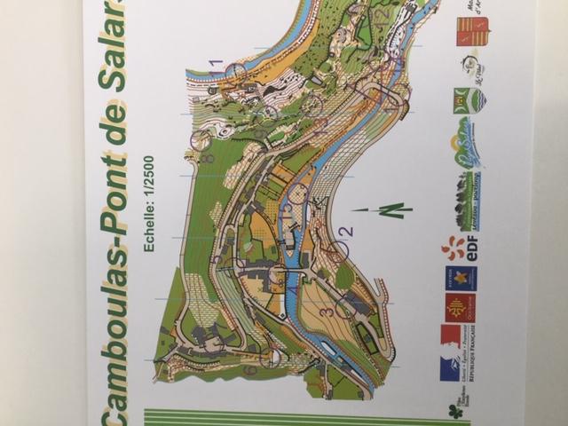 Parcours d'orientation de Camboulas