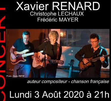 CONCERT avec Xavier Renard