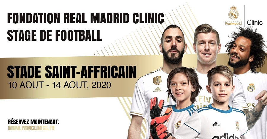 Stage de foot Real Madrid Clinic