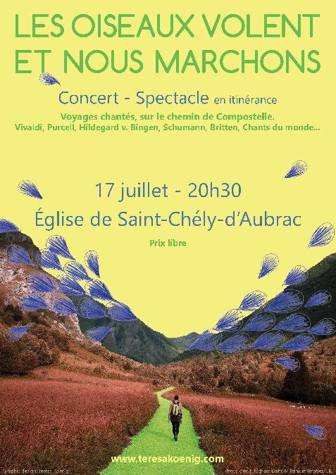 Concert - Spectacle en Itinérance à l'église de St Chély d'Aubrac