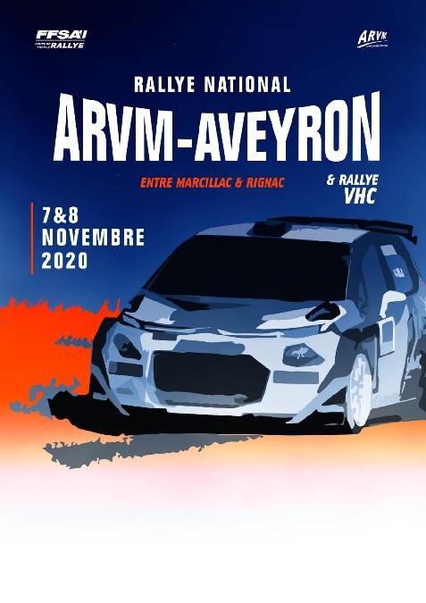 Rallye national ARVM - AVEYRON