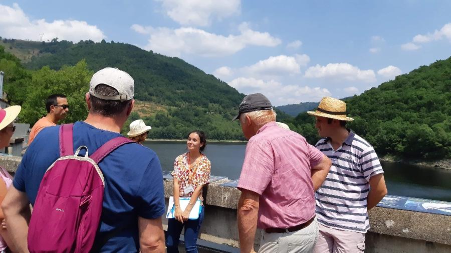 Visites guidées du barrage à la centrale