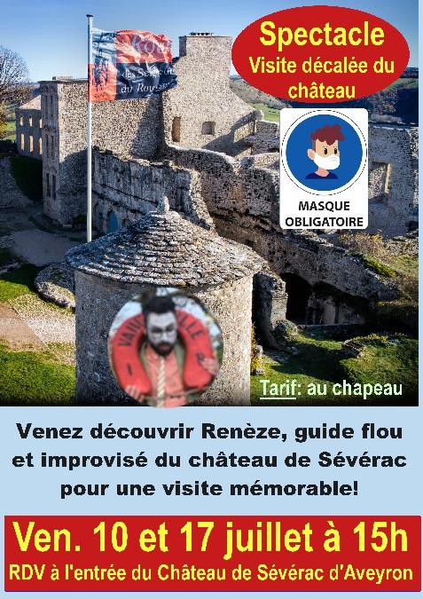 Visite décalée du château de Sévérac