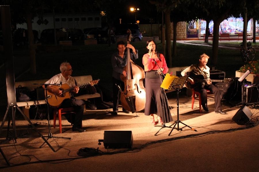 Les Music'Halles en terrasse