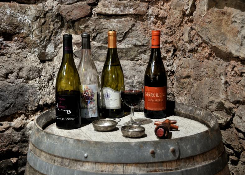 Dégustation de vin AOP Marcillac