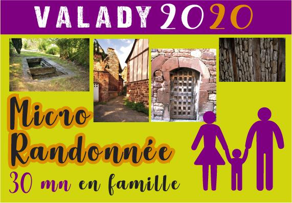 Micro randonnée dans le village