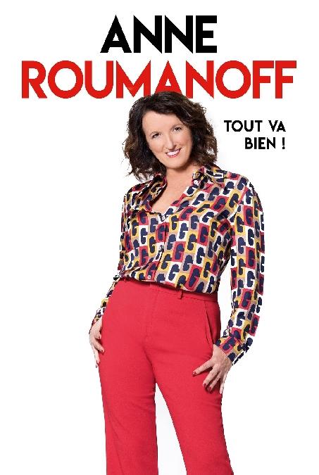REPORTE-Spectacle : Anne Roumanoff
