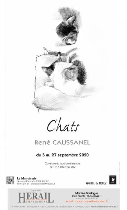 Exposition : René Caussanel, à la Menuiserie