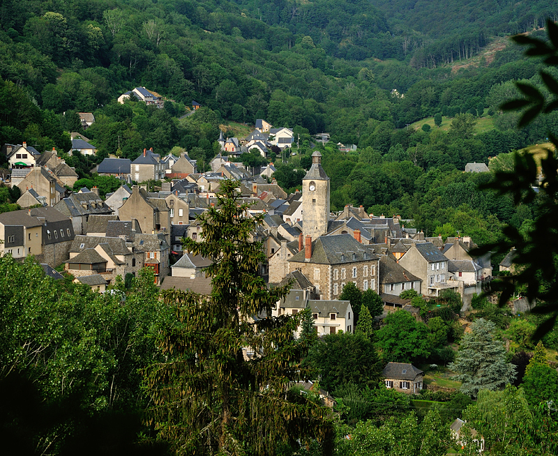 Visite nocturne de St Chély d'Aubrac - 15 Aout