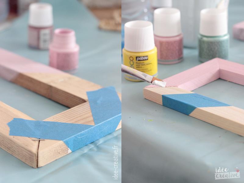 Atelier Peinture sur cadre photo