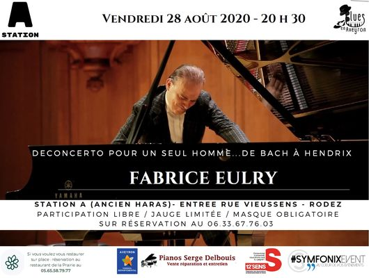 Concert : Fabrice Eulry - piano