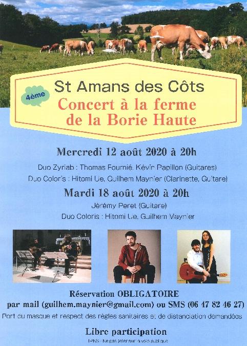 Concert à la ferme