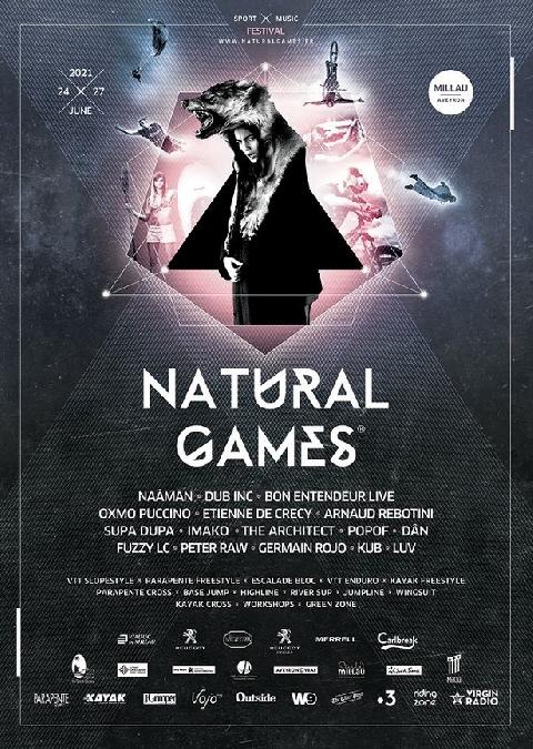 Festival Natural Games (NG) 2021- ANNULÉ