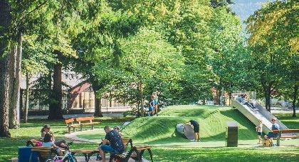 Aire de pique-nique du Parc de la Victoire, OFFICE DE TOURISME DE MILLAU