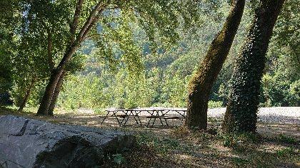 Aire de pique-nique de Rivière-sur-Tarn, OFFICE DE TOURISME DE MILLAU