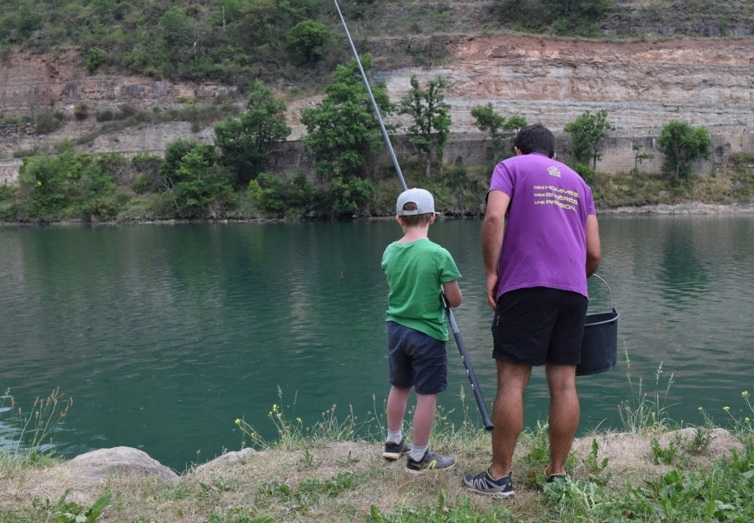 Parcours pêche famille de St-Rome-de-Tarn