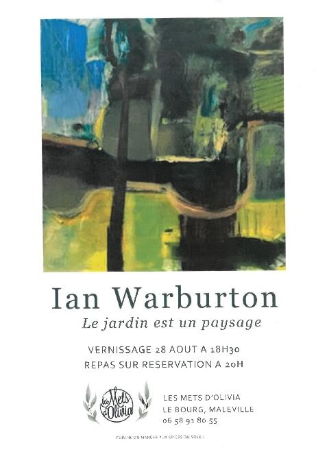 Ian Warburton - Le jardin est un paysage