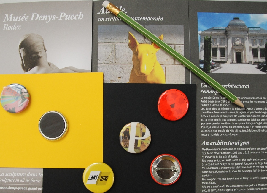 Atelier Badges au musée Denys-Puech