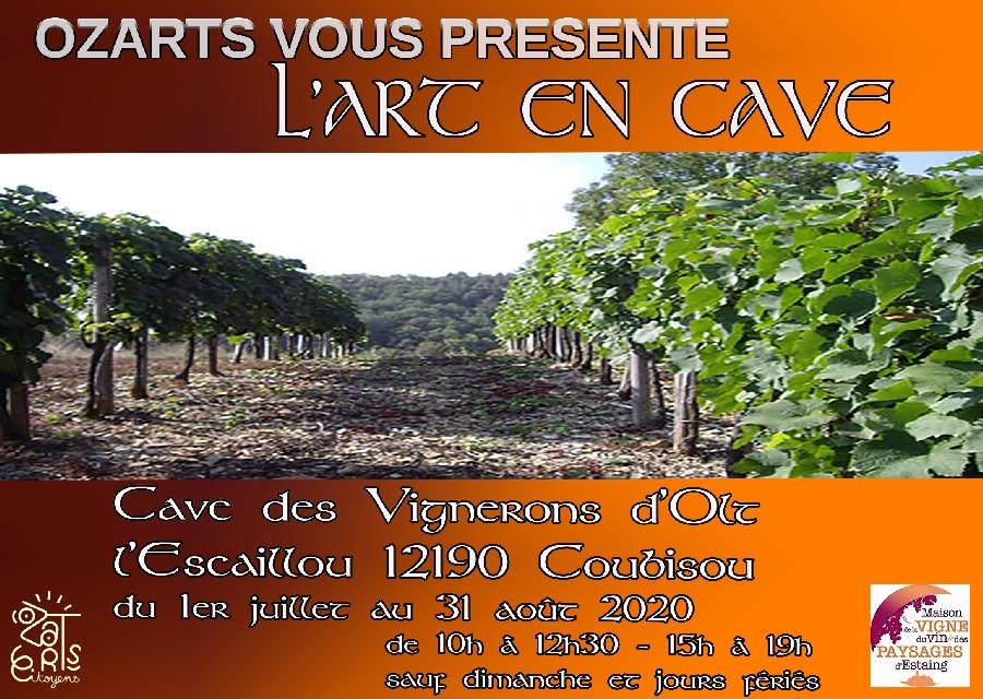Exposition: Ozarts Citoyens à la maison de la Vigne, du Vin et des Paysages d'Estaing