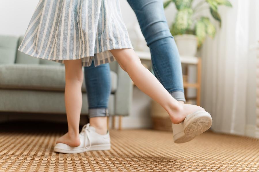 Le bal des petits pieds