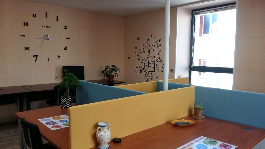Le C@stel'Work : espace de travail partagé