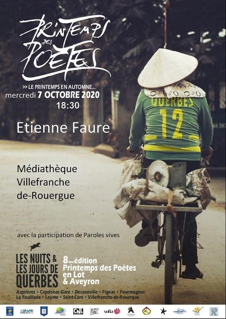 Rencontre d'Etienne Faure