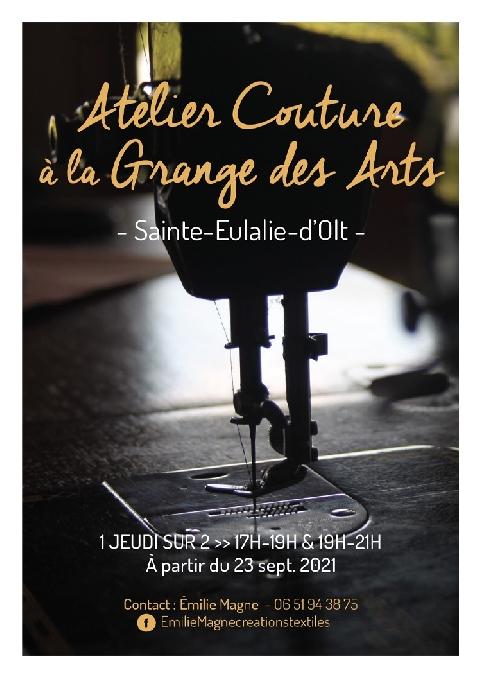 atelier couture à Ste Eulalie d'Olt