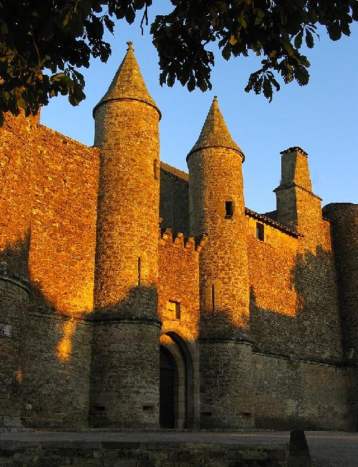 Visite du château d'Onet