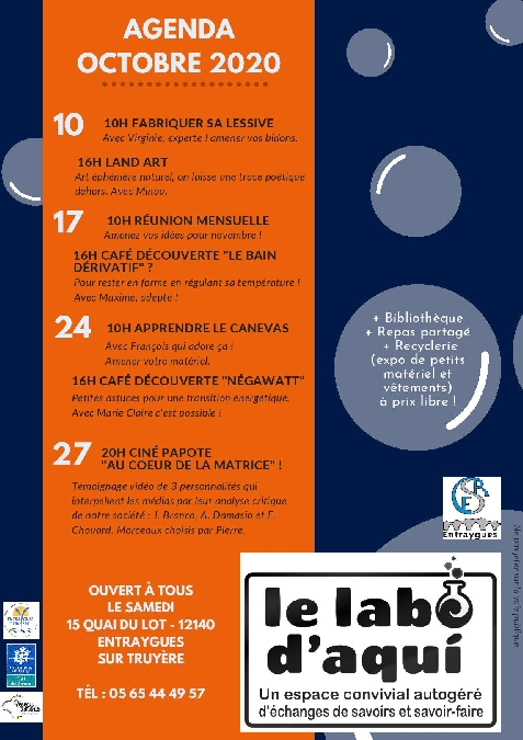 Labo d'Aqui: Café découverte, Négawatt