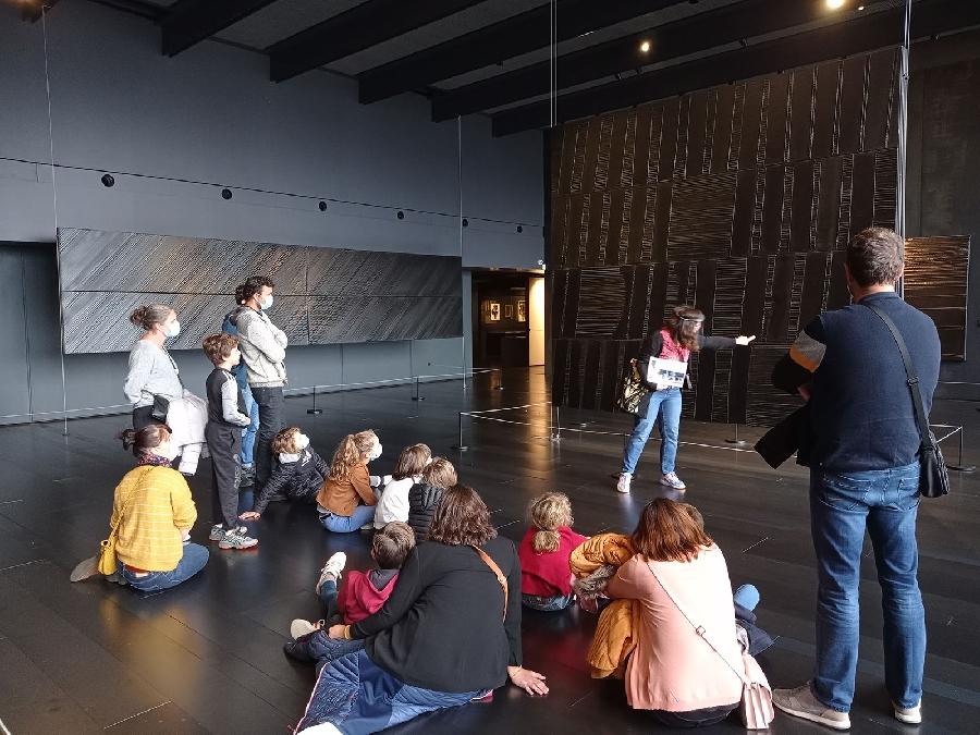 Mes vacances au musée Soulages : les visites en famille