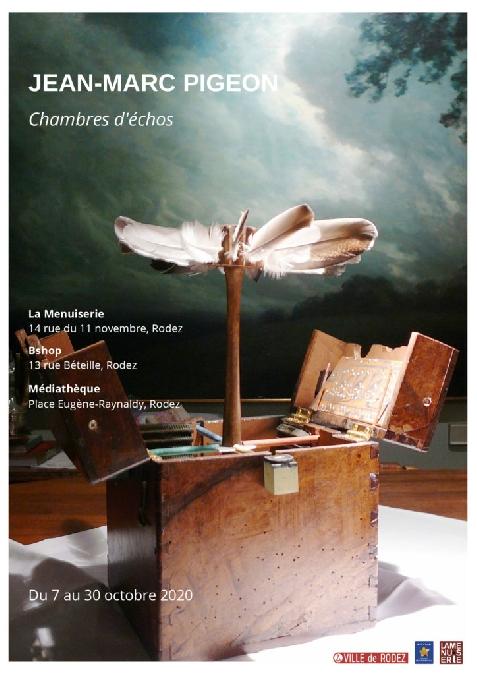 Exposition Jean-Marc PIGEON à La Menuiserie